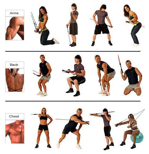 Bodylastics exercises'