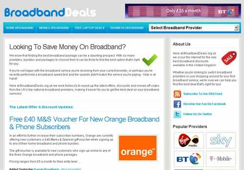 BroadbandDeals.org.uk'