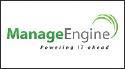 Logo for ZOHO ManageEngine'
