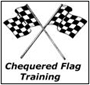 Chequered Flag logo'
