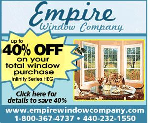 Logo for Empire Window Company'