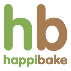 Logo for Happibake Spray Tanning Company'