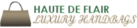 HauteDeFlairLuxuryHandbags.com Logo