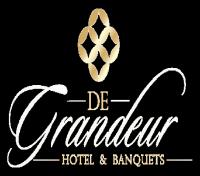 De Grandeur Hotel and Banquets Logo