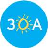 The 30A Company Logo