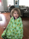 Fleece and Thank You Blanket Making Day!'