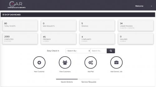 CAR - Complete Auto Reports Dashboard'