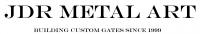 JDR Metal Art Logo