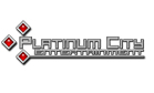 Logo for Platinum City Entertainment'