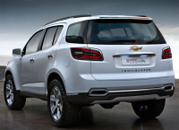 2012 Chevrolet Trailblazer back
