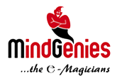 Logo for Mindgenies International'