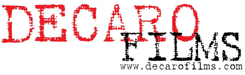 Logo for Decaro Films'