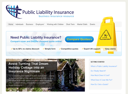 Public Liability Insurance'