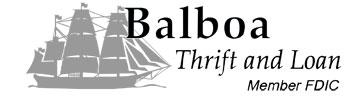 Company Logo for Balboa Thrift & Loan'