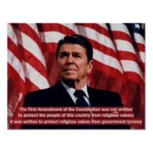 President Ronald Reagan'