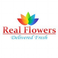 REAL FLOWERS Logo