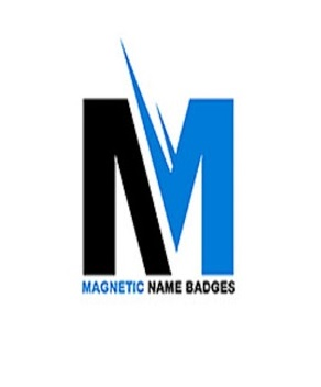 Company Logo For Magnetic Name Badges'