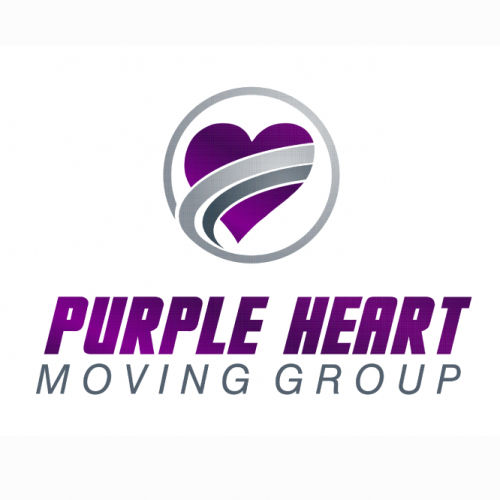 Company Logo For Purple Heart Moving Group'