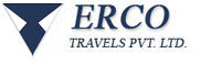 Logo for Erco Travels Pvt. Ltd.'