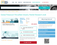 Global Potassium Persulfate Industry Market Research 2018