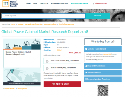 Global Power Cabinet Market Research Report 2018'