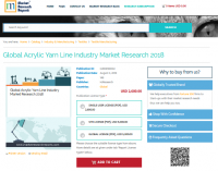 Global Acrylic Yarn Line Industry Market Research 2018
