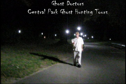 Ghost Doctors ghost hunting in Central Park NYC'