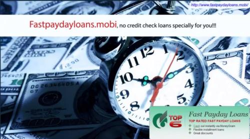 No Credit Check Loans'