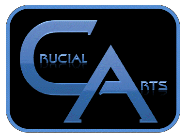 Logo for Crucial Arts Productions, Inc.'