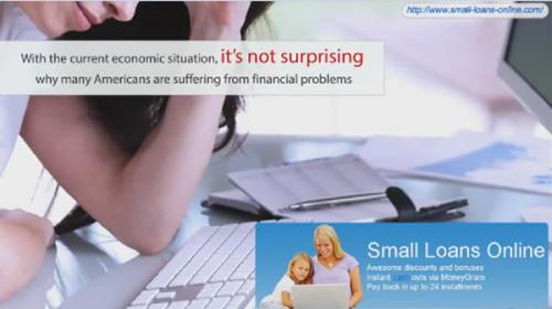 Small Loans No Credit Check'