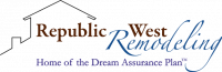 Republic West Remodeling Logo