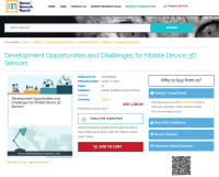 Development Opportunities and Challenges for Mobile Device