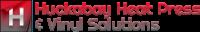 HuckabayHeatPressAndVinylSolutions.com Logo