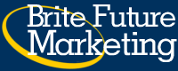 Logo for Brite Future Marketing'