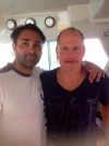 Woody Harrelson host of Sorrentino in Positano'