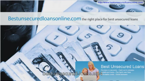 Best Unsecured Loans'