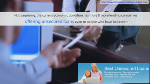 Unsecured Loans Online'