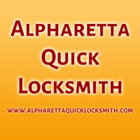 Alpharetta Quick Locksmith Logo