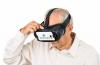 Man wearing IrisVision'