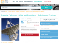 Tanzania - Telecoms, Mobile and Broadband - Statistics