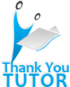 Logo for Thank You Tutor'