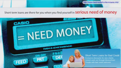Short Term Loans'