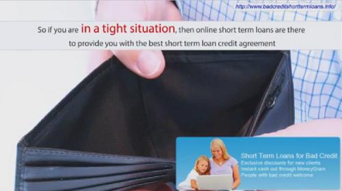 Short Term Loans Online'