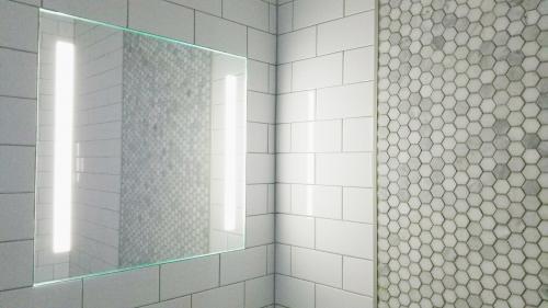 ShowerLite White Tile'