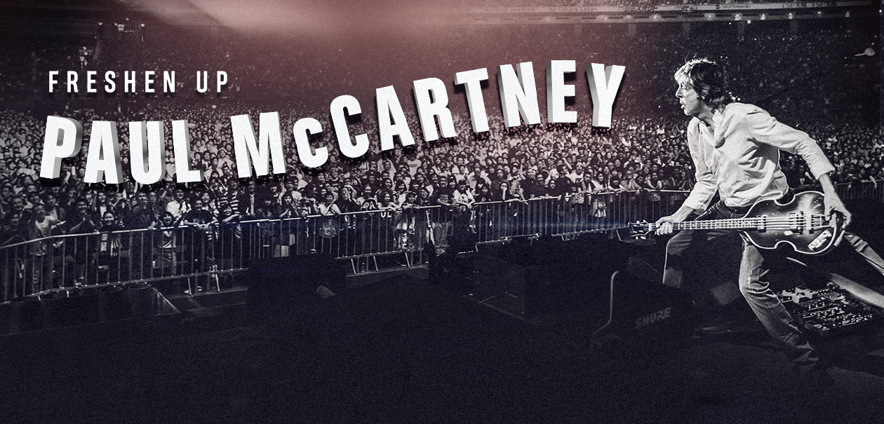 Paul McCartney Concert Tickets Moline at TaxSlayer Center