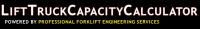 Lift Truck Capacity Calculator Logo