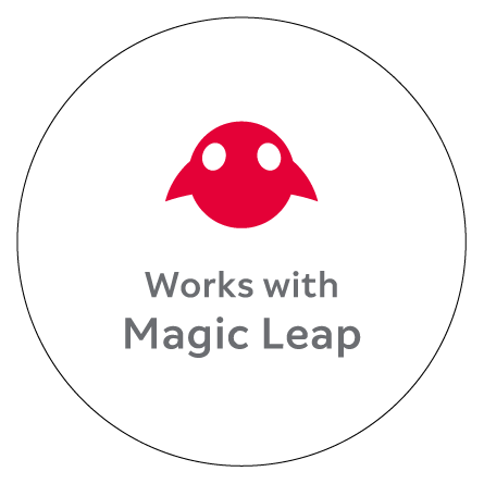 Works with Magic Leap'