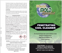 HVAC coil and evaporator cleaning solutions