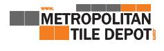 Logo for Metropolitan Tile Depot'