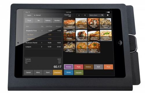 Optimizing counter service and tableside ordering Rezku POS'